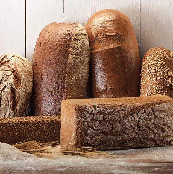 Brotsortiment von steinecke